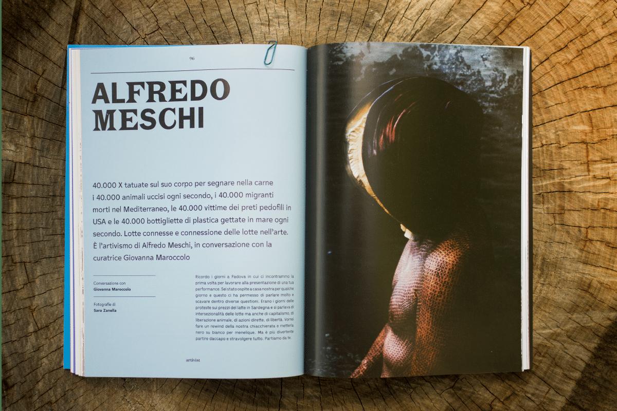 L'artivismo di Alfredo Meschi