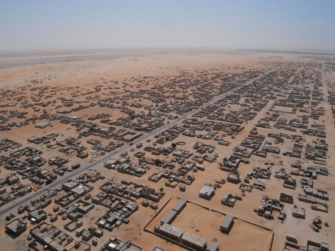Il Sahara urbano visto dal cielo